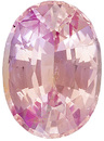 Gem of A Padparadscha Unheated Ceylon Sapphire, Low Price in Oval Cut, 10.0 x 7.3mm, 3.08 carats - With GIA Certificate