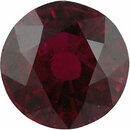 Super Deal On Ruby Loose Gem in Round Cut, Medium Purple Red, 6.35 mm, 1.42 Carats