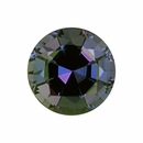 Very Fine Alexandrite Loose Gem in Round Cut, Medium Blue Green to Vibrant Purple Pink, 4.62 mm, 0.47 Carats