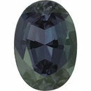 Genuine Alexandrite Loose Gem in Oval Cut, Vibrant Green Blue to Vibrant Purple Pink, 7.14 x 5.01  mm, 1.01 Carats