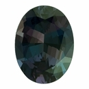 Fine Alexandrite Loose Gem in Oval Cut, Medium Blue Green to Vibrant Purple Pink, 8.02 x 6.05  mm, 1.37 Carats