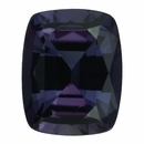 Super Value Alexandrite Loose Gem in Antique Cushion Cut, Medium Green Blue to Medium Pink Purple, 7.79 x 6.18  mm, 1.7 Carats
