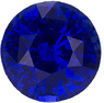 Great Choice for Beautiful Loose Sapphire Engagement Stone. Great Color, Round Cut 6mm, 1.28 carats - SOLD