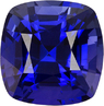 Fiery Blue Sapphire Genuine Ceylon Gem in Antique Square Cut, 5.4 x 5.3 mm, 0.98 Carats - SOLD