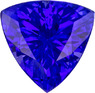 Striking Loose Trillion Cut Tanzanite Gem in Stunning Color, 6.5 mm, 0.97 carats