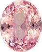 Padparadscha Sapphire Collector Stone in Rich Pink Color Oval Cut, Unheated with GIA Certificate, 11.75 x 9.61 x 5.37 mm, 4.88 carats