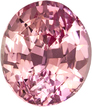 Unheated Padparadscha Pink Orange Sapphire Unheated GIA Gem in Oval Cut, 6.58 x 5.63 x 4.33 mm, 1.24 carats