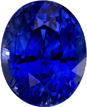So Fine Intense Blue Loose Sapphire Gem in Oval Cut, 9.5 x 7.7 mm, 3.23 carats - SOLD