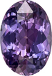 Multi Color Pink Purple Sapphire Gem in Oval Cut, 9.7 x 6.7 mm, 2.34 carats