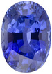 GIA Certified GEM Intense Medium Rich Blue Sapphire Gem with Excellent Clarity, Oval Cut, 7.32 carats