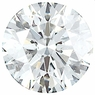 0.25 Carat Total Weight Genuine Diamond Parcel 3 Pieces, 2.74 - 3.23 mm Size Range  SI2/3 Clarity - G-H Color