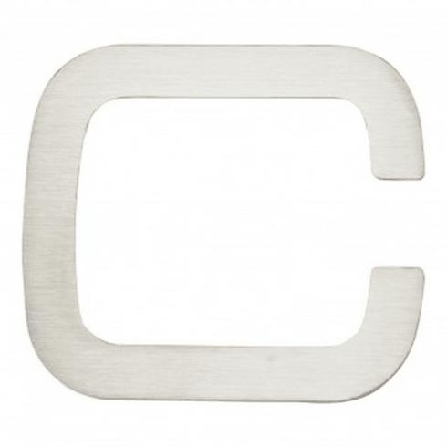 Atlas Homewares - PGNC-SS Paragon Letter C Stainless Steel