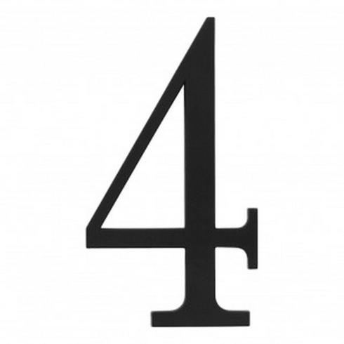 Atlas Homewares - TRN4-BL Traditionalist #4 Matte Black