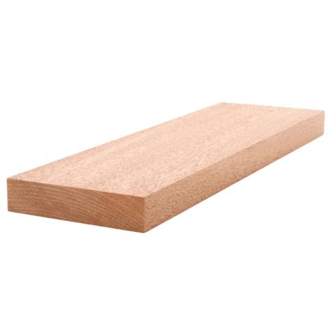 Mahogany Lumber - S4S - 1 x 4 x 108