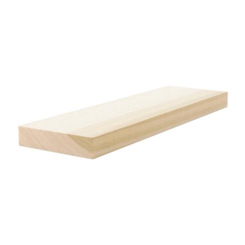 Poplar Lumber - S4S - 1 x 4 x 108