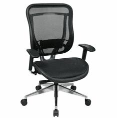 300 Lbs. Capacity All Mesh Executive Chair w/Seat Slider