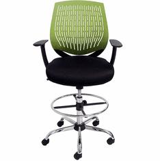 "GeoFlex Ergonomic Drafting Stool w/26""-29"" Seat Height"