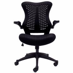 Sleek Ergonomic All-Mesh Chair w/Flip Up Arms