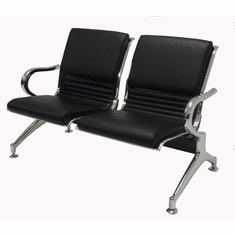 2-Seater Upholstered Beam Seating