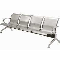 4-Seater Heavyweight Airport Seating
