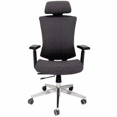 Stretch Linen Ergonomic Chair w/Headrest & Seat Slide
