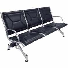 3-Seat Modern Classic Airport Lounge Beam Seating