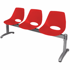Scoop Airport Seating - 3-Seater