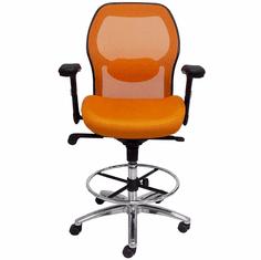 Advanced Ergonomic Ultra Drafting Stool w/25�-32� Seat Height