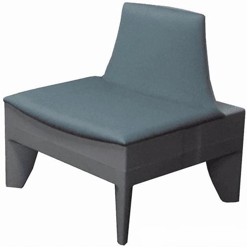 Gray Modular Reception Chair