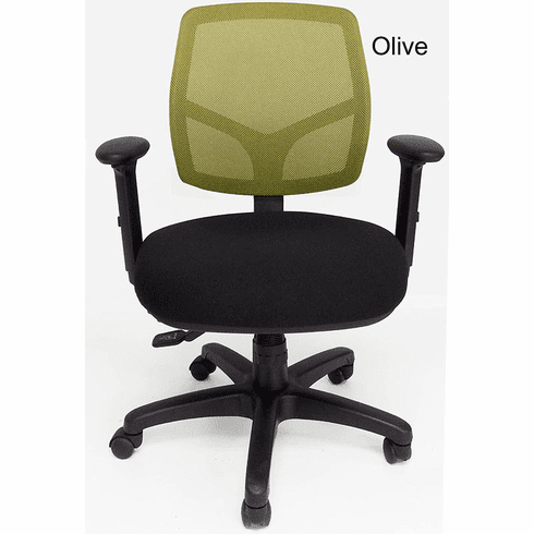 24/7 300 Lbs. Capacity Multi-Function Office Chair w/Seat Slide
