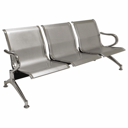 3-Seater Heavyweight Airport Seating