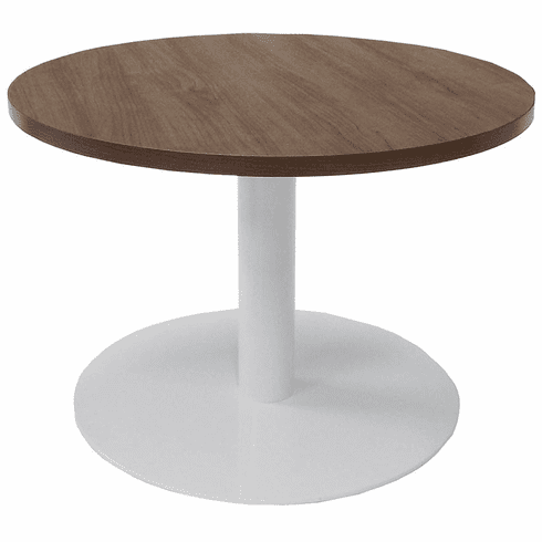 30 Round Metal Disc Base Waiting Room Table