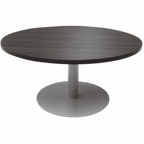 42 Round Metal Disc Base Waiting Room Table