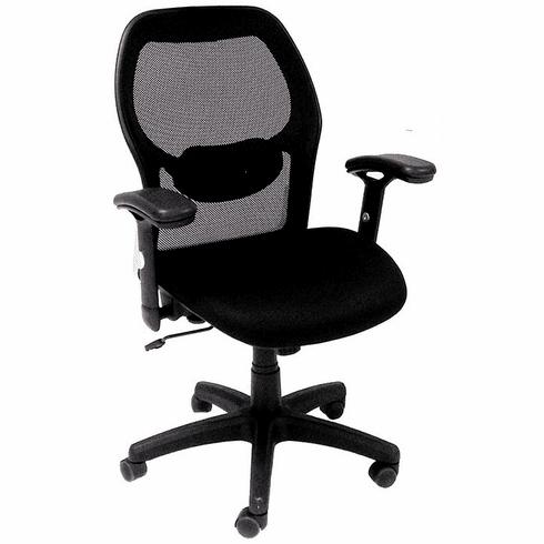 Black Mesh Back Ergonomic Office Chair