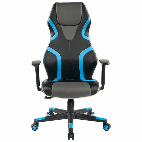 High Back Swivel Gaming Chair with LED Light Piping
