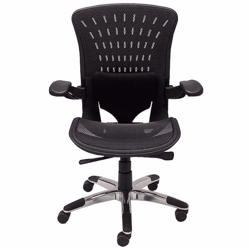 350 Lbs. Capacity ErgoFlex Ergonomic All-Mesh Office Chair