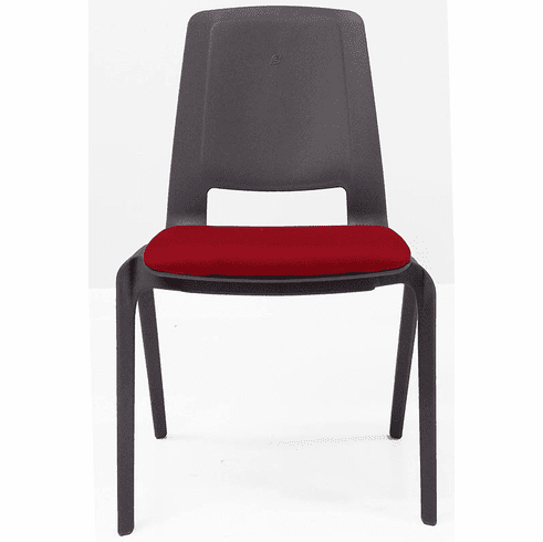 300 Lbs. Capacity Heavy Duty FlexBack Ganging Stack Chair w/Padded Seat