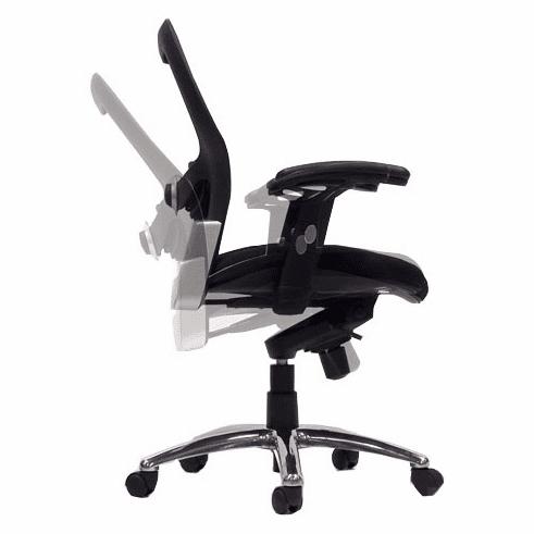 Knee-Tilt Mesh Back Ergonomic Chair
