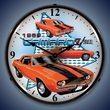 1969 Camaro Z28 Wall Clock, LED Lighted