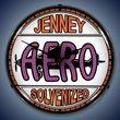 Jenny Aero Wall Clock, LED Lighted: Gas / Oil Theme