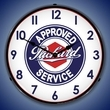 Packard Wall Clock, LED Lighted