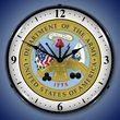 US Army Seal/Logo Wall Clock, LED Lighted
