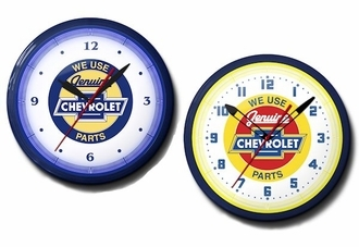 We Use Genuine Chevrolet Parts Neon Clocks: High Quality