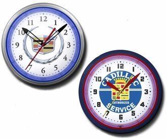 Cadillac Neon Clocks, 20 Inch, High Quality