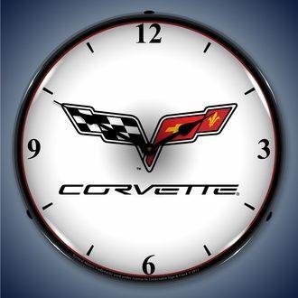 Corvette LED Lighted Clocks