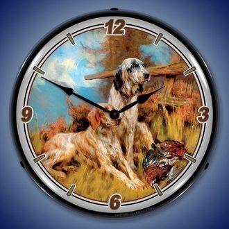 Hunting, Fishing, Wildlife LED Lighted Clocks