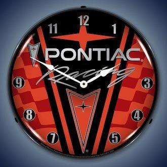 Pontiac LED Lighted Clocks