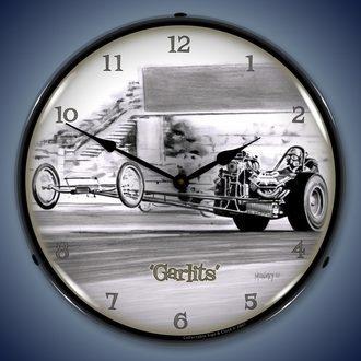 Tim Odell Art Wall Clocks, LED Lighted