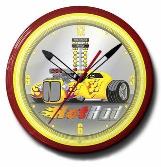 Hot Rod Neon Clocks: Bitchin Themes, High Quality, 20 Inch