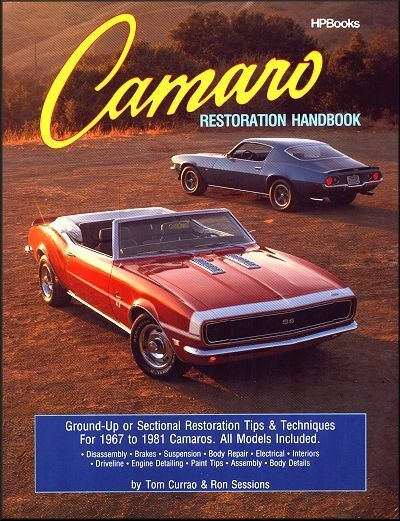 Camaro Restoration Handbook: 1967-1981